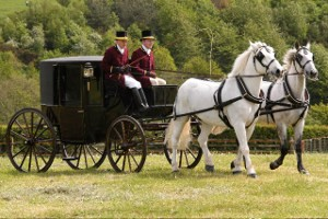 Brougham - Intimate Enclosed Wedding Carriage